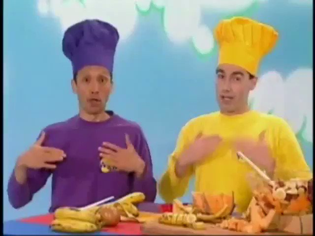 Yo The Wiggles did not have to snap this fucking hard on this one