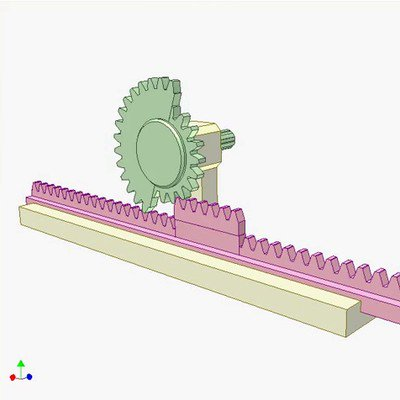 Rack Pinion Mechanism