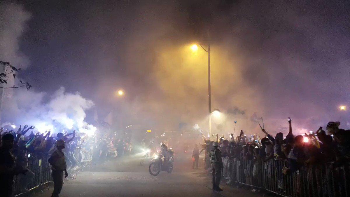 CHEGOU #CRUXFLA https://t.co/U16MLGz8GB