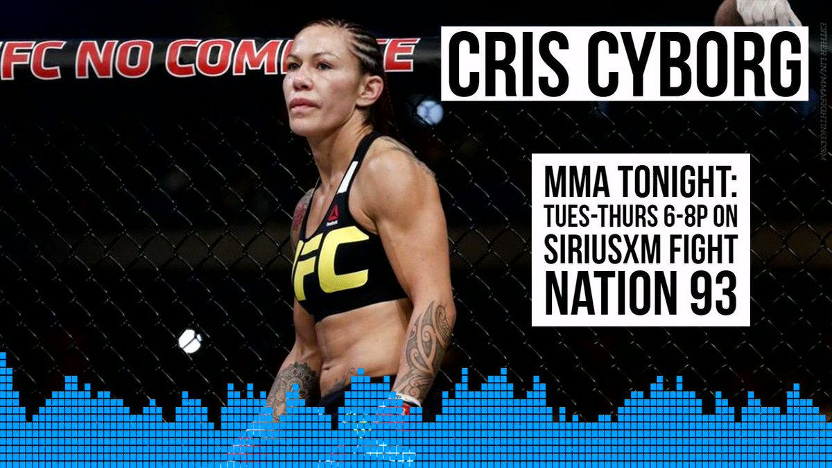 I dont know if she could take a punch - @criscyborg says Kayla Harrison knows where to find me, if shes interested in a fight, providing she makes 145 @MieshaTate @RJcliffordMMA