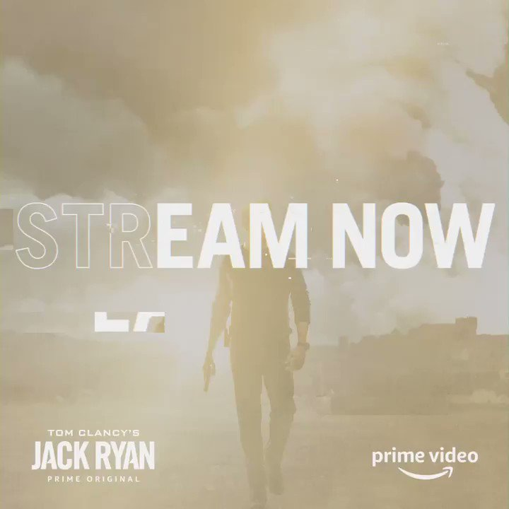 The wait is over... today is the day! #JackRyan now on @primevideo @jackryanamazon