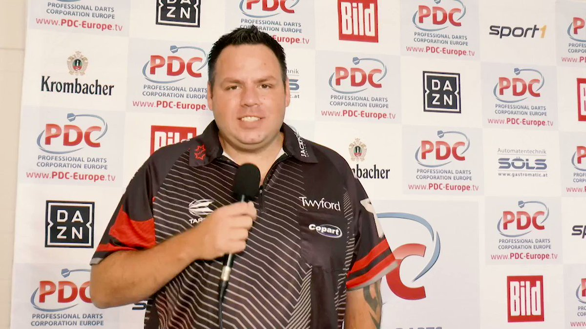 Next weekend the European Tour is heading back to the Netherlands! And @jackpot180 Adrian Lewis has something important to say... 👉Tickets: bit.ly/2wFDnrK 👈