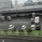 ヤマトのトラック倒れたってよ!この台風本当に凄まじいな…