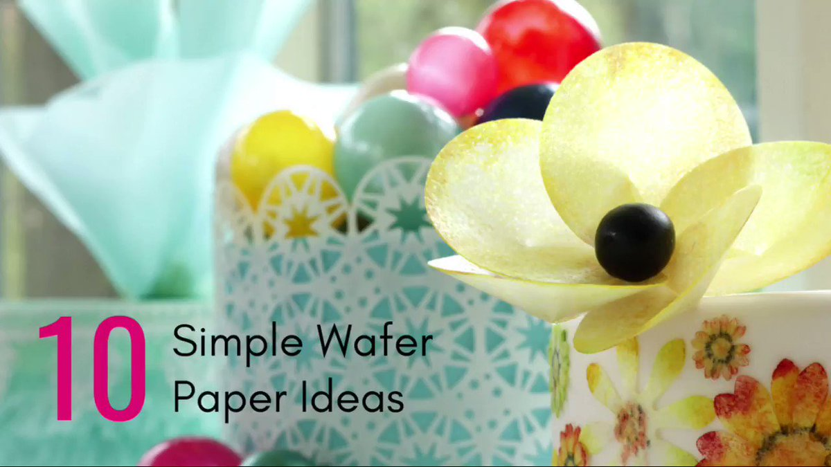 You keep asking for online classes...so (drum roll) I have bitten the bullet and set up my own online school and created a class just for you. …https://lindy-smith-s-sugarcraft-school.teachable.com/p/10-simple-wafer-paper-ideas… I hope it appeals, wafer paper is something I have a lot of fun with. #cakedecorating #waferpaper #onlineclasses pic.twitter.com/TGBsicKtN6