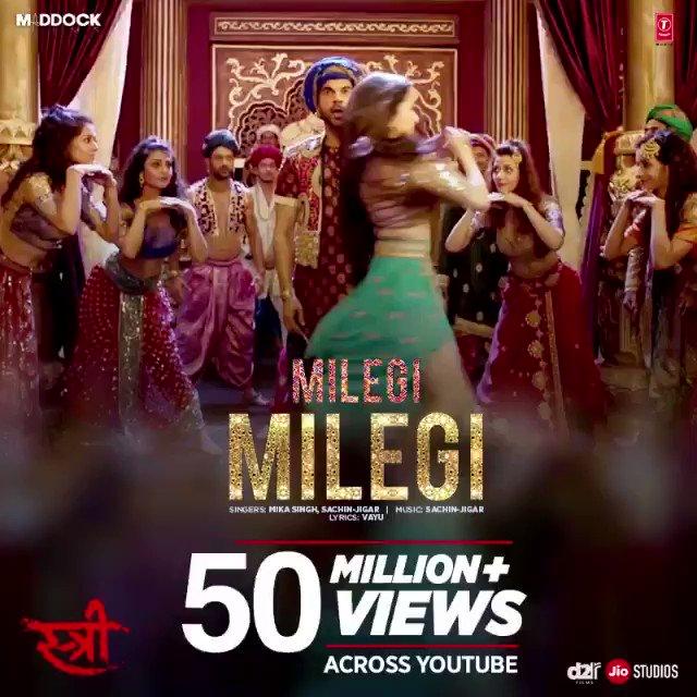 There's no stopping #MilegiMilegi!  Issi baat pe ek baar aur dekh lo https://t.co/2chFWhrwIt  #StreeInCinemasNow @RajkummarRao
