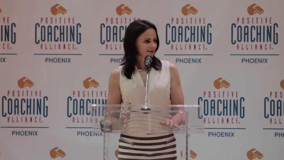 .@PhoenixMercury Head Coach Sandy Brondello talks about what #PositiveCoaching means to her. Tune in to the #WNBAPlayoffs tonight as the Mercury face off vs. the @seattlestorm in Game 5!