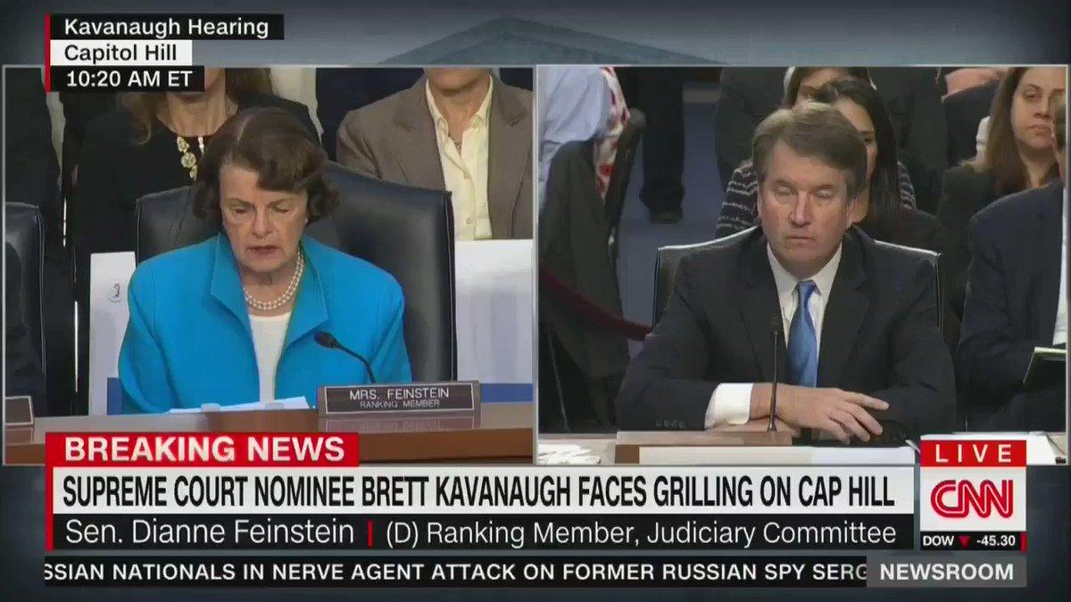 Kavanaugh: Roe v. Wade is 'settled precedent of the Supreme Court.' https://t.co/1WzHraNxAZ https://t.co/1rlkyYOJFb
