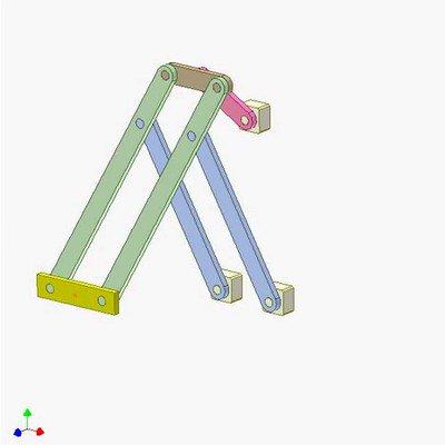 Double Parallelogram Mechanism