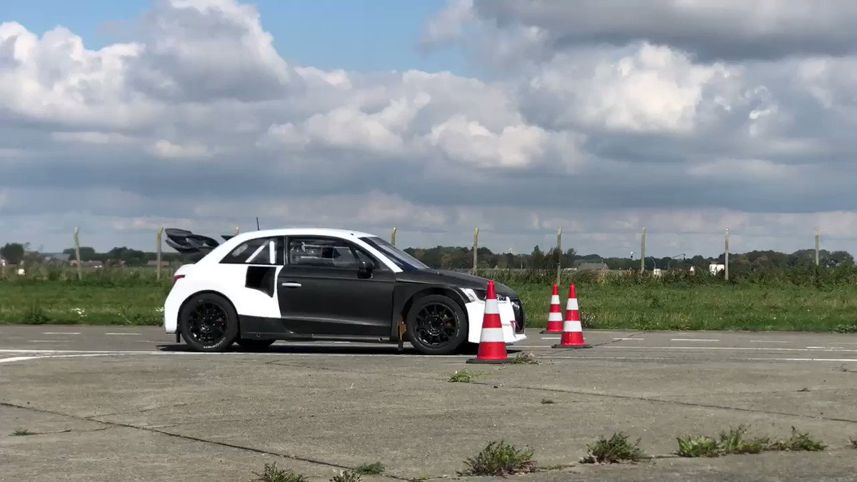 Test day today before next event ... More info will follow @FIAWorldRX #LeagueofPerformance