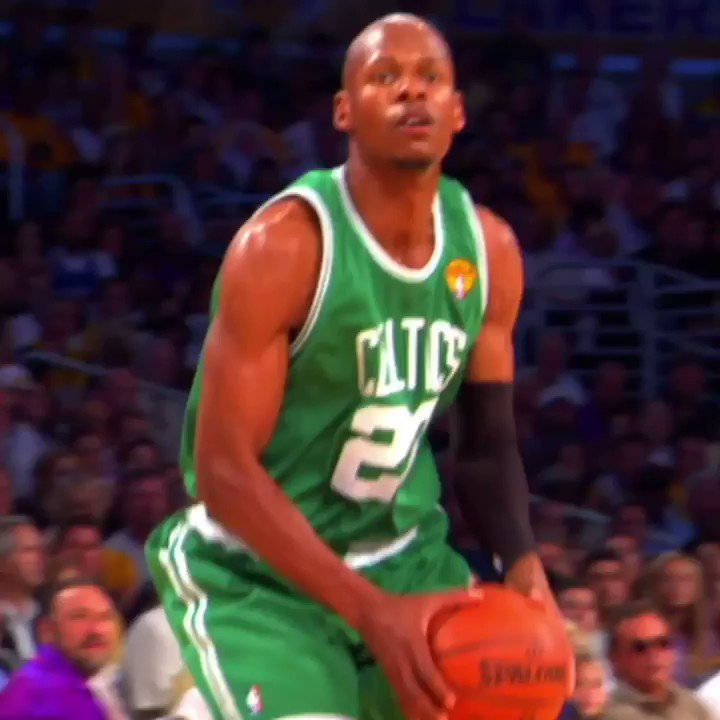 Very few could shoot the ball like him. 👌  Welcome to the Hall of Fame, Ray Allen!