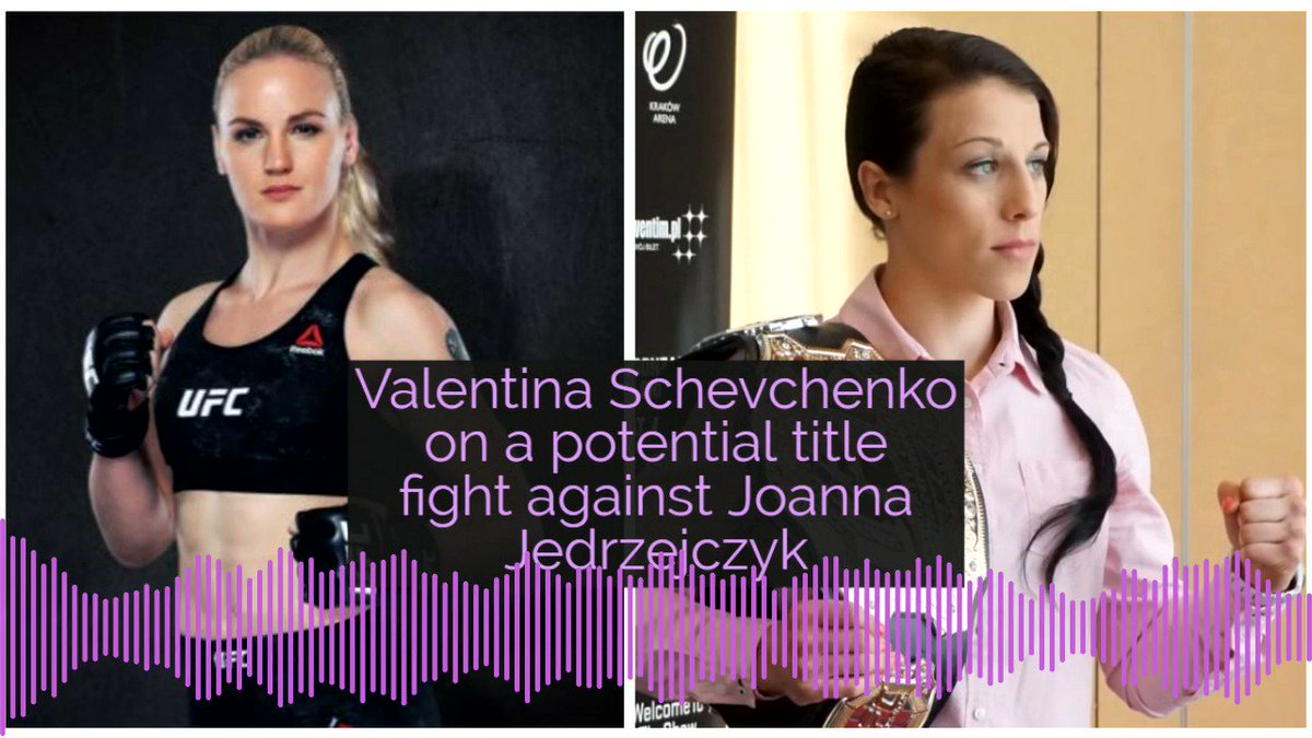 Now we can start our history in MMA under UFC rules so why not? -- @BulletValentina to @MieshaTate and @RyanMcKinnell on a potential UFC womens flyweight title showdown with Joanna Jedrzejczyk #UFC228