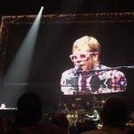 Elton John Twitter Photo