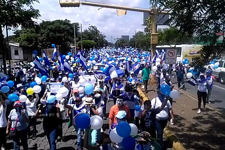 actualización marcha avanza MILES marchan