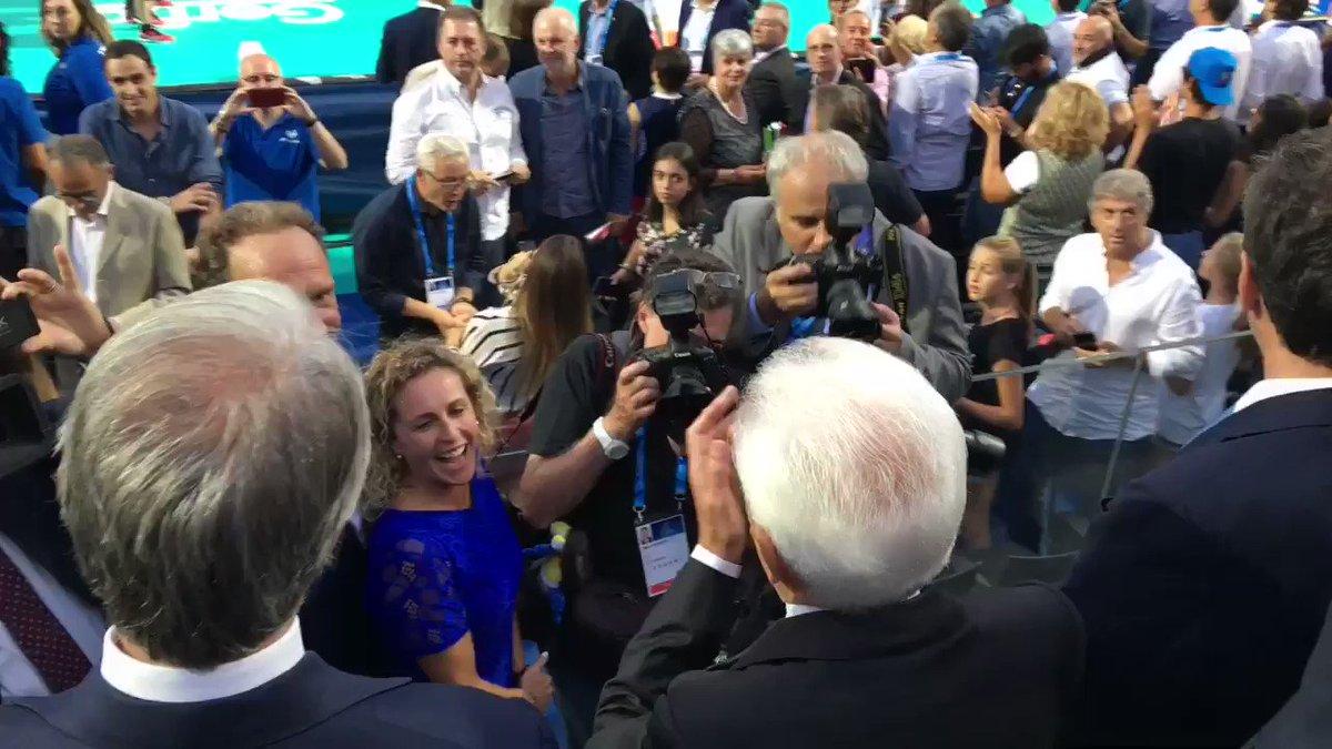 #VolleyMondiali18, il Presidente #Mattarella alla partita inaugurale del mondiale di #pallavolo maschile  #ItaliaGiappone    - Ukustom
