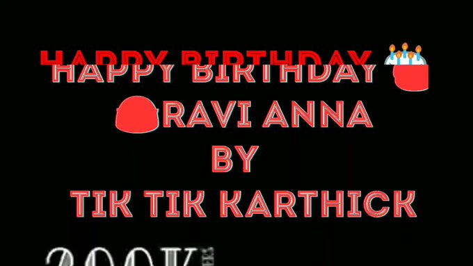Happy birthday to jayam Ravi Anna