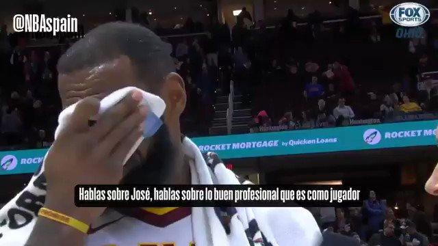 Nos gusta recordar esto: LeBron James hablando maravillas sobre Calderón y la Selección Española de Baloncesto 💯