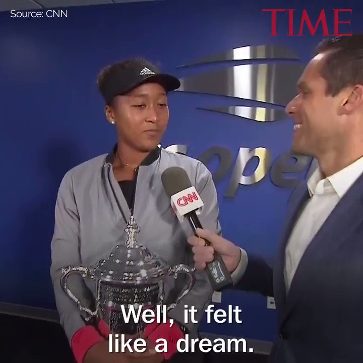 U.S. Open winner Naomi Osaka discusses the emotional trophy ceremony https://t.co/GwdivwE3hj https://t.co/ELmuoMZn8B