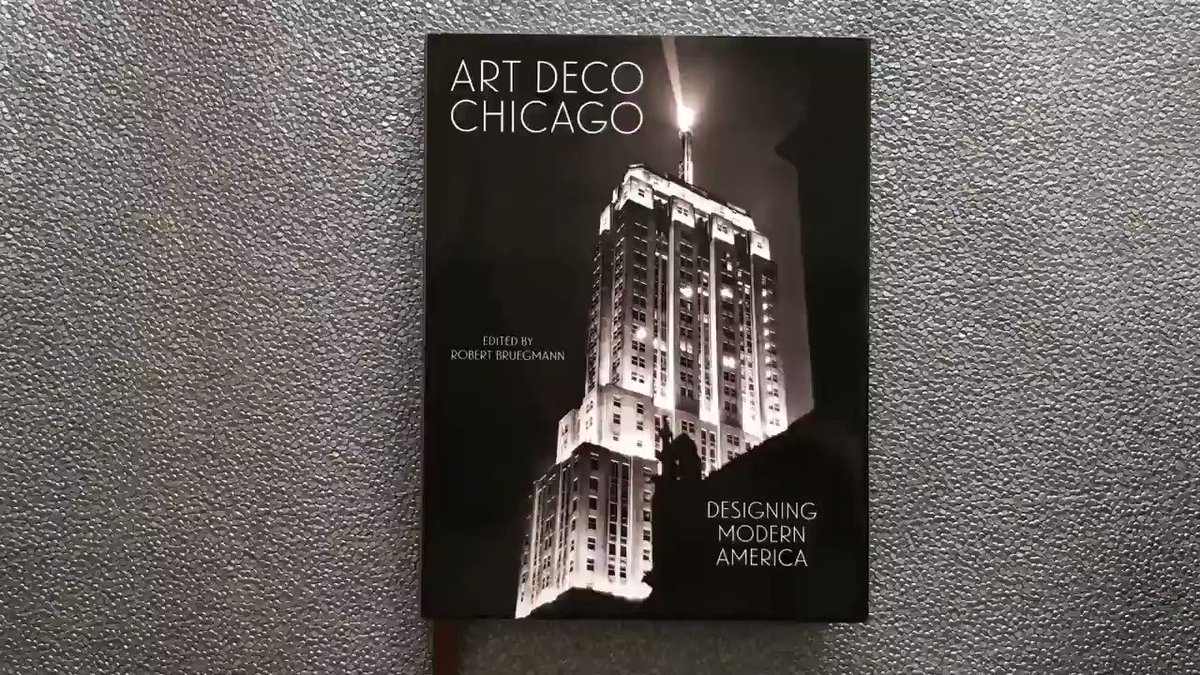 Chicago Art Decos new book, Art Deco Chicago: Designing Modern America will be available for sale online soon! Take a look inside the book through this special sneak peek video by Yale University Press and go to chicagodeco.org/book to learn more! #artdecochi #chicagoartdeco