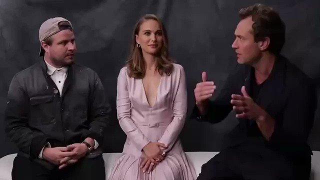 "Brady Corbet, Natalie Portman and Jude Law on ""Vox Lux"" (2018)"