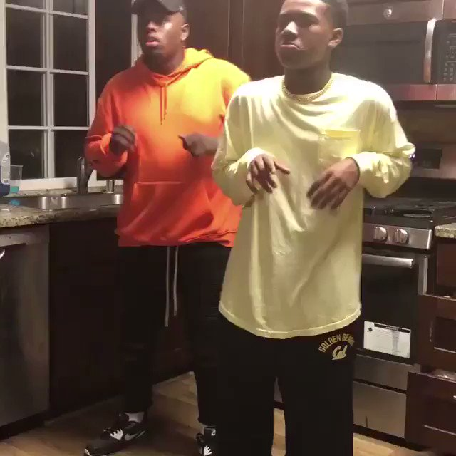"""How I'm dancing to """"Womp Womp"""" from now on, @valee. @LILKIDA8"""