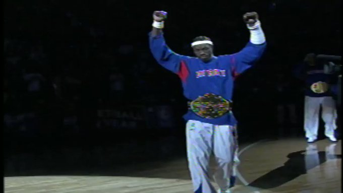 In case you forgot, Ben Wallace was an absolute MONSTER. Happy birthday   :