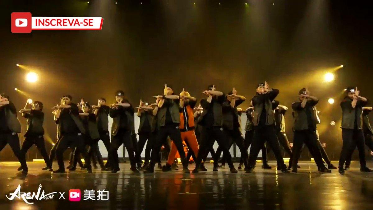 Naruto dance show down~! <3