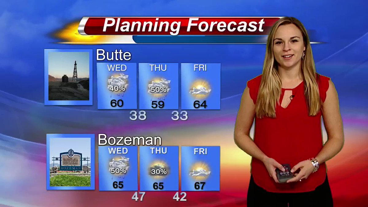 Meghan Boura On Twitter E Bozeman Wednesday Planner A Week Of Rain And Cooler Temps Mtwx Thunderstorms