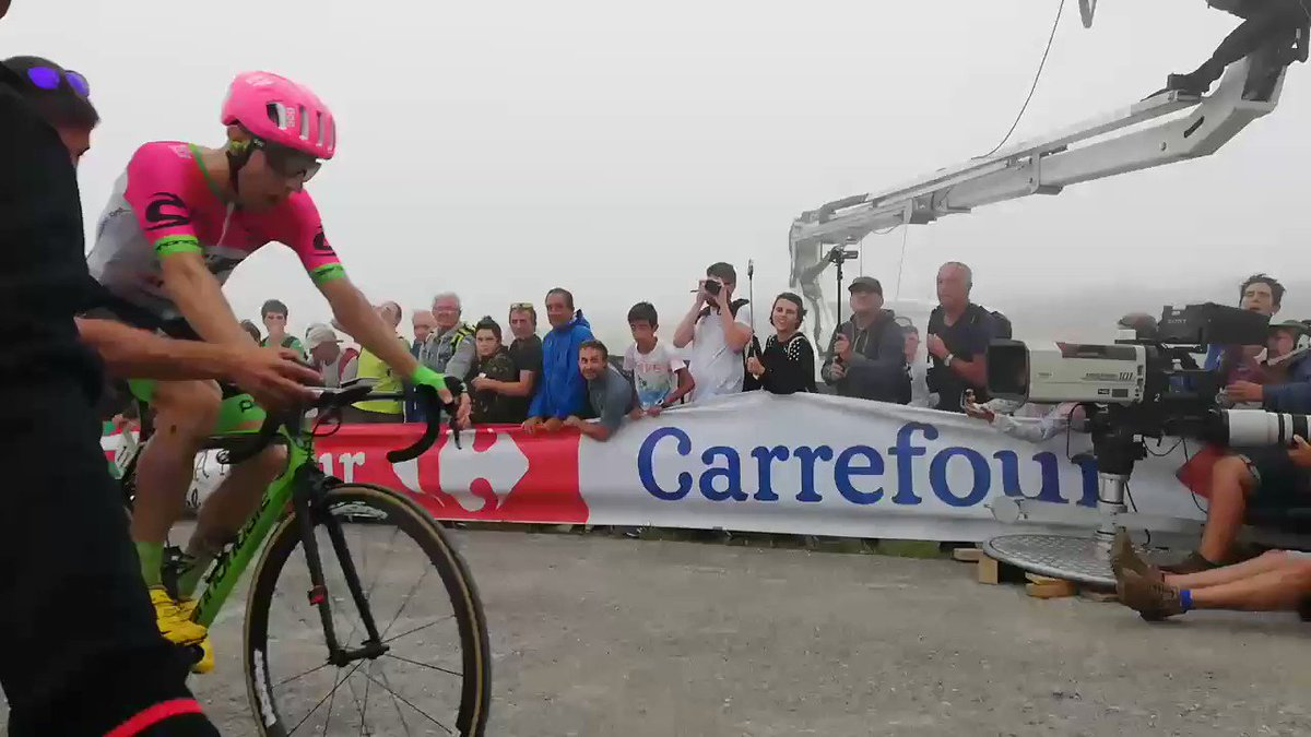 The Backstory Behind Mike Woods's Emotional Win at the Vuelta a España