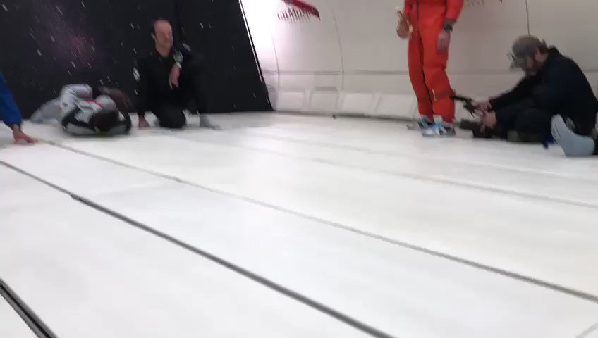 Sprint legend Usain Bolt tested his running skills in zero gravity against astronauts ....