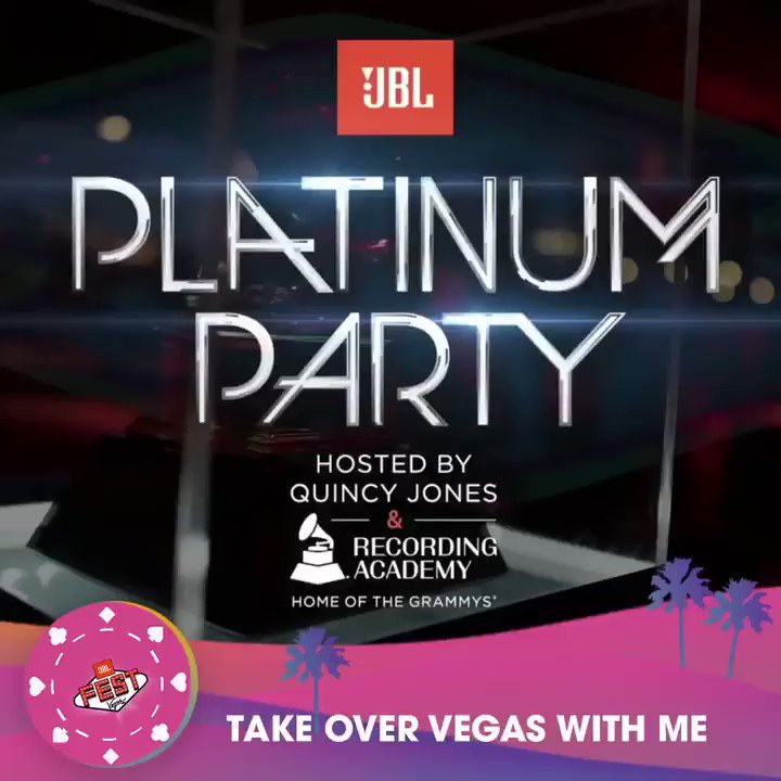 Honored to be running the show for @JBLaudio's Platinum Party at #JBLFest!...Wanna come?? Enter at jblfest.com from 4-5PM ET daily & you could win a fully-paid trip to Vegas to come do the hang-thang!