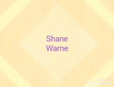 Happy Birthday Shane Warne from with one handed six!