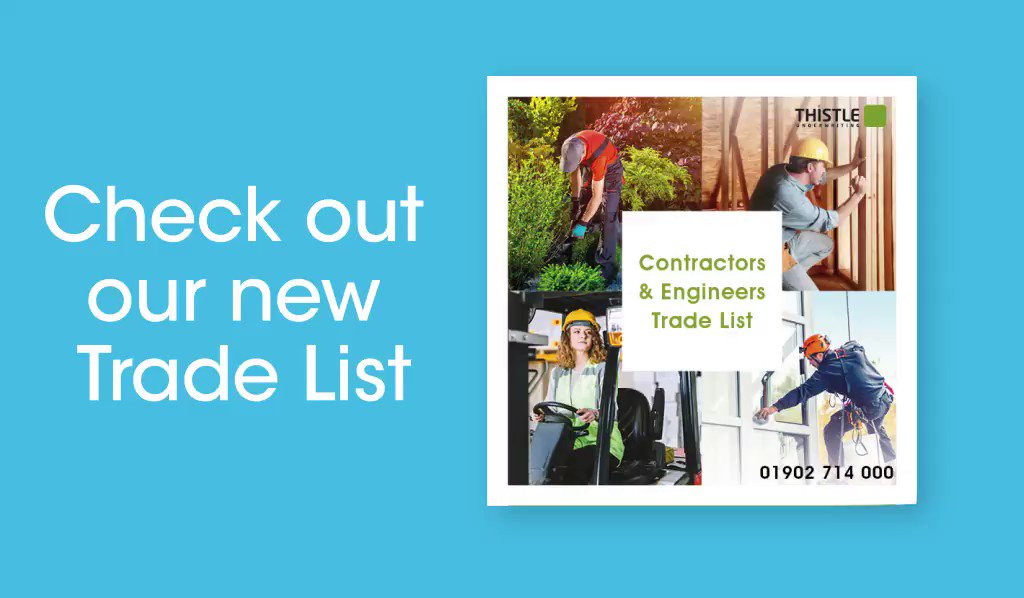 Have you got your copy of our trade list yet? Click here https://t.co/TrXu8R4StV