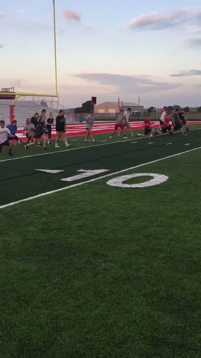 Rapids Football On Twitter Imagine Holding PE Class OUTSIDE It Is Happening In New Palestine IN Why Not Grand