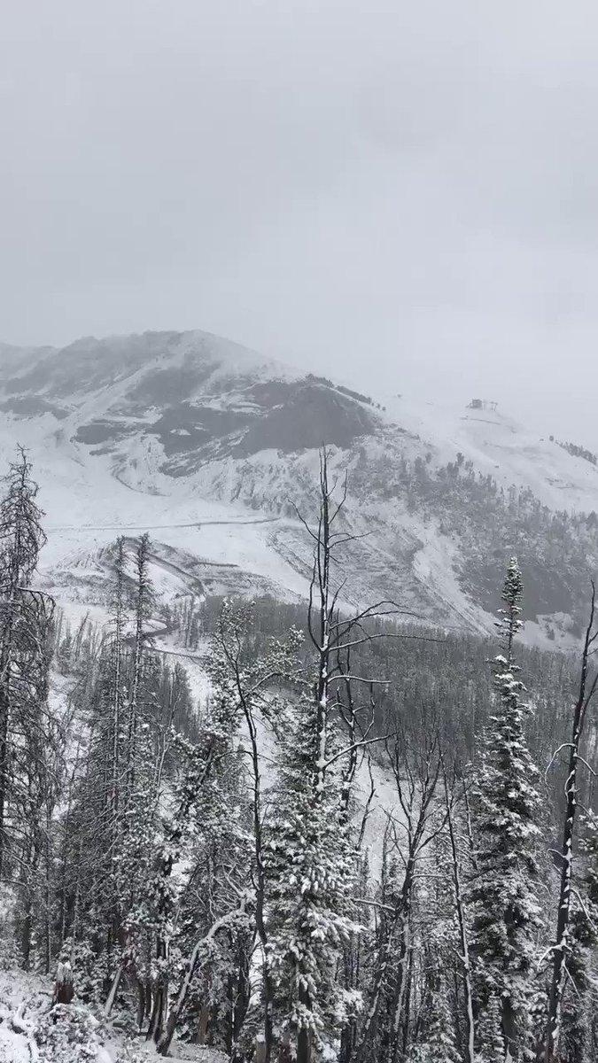 New snow alert for #BigSkyResort!