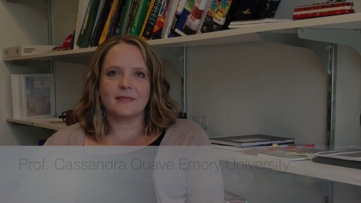Don't miss our special guest from Emory University, professor Cassandra Quave (@QuaveEthnobot), she will be speaking to us about The Discovery of anti-infective #botanical #natural products! @SBrinsmade