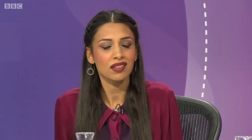 WATCH | @JuliaHB1 on top form tonight: If we dont get a deal, its because our wonderful friends in the EU want to punish us for having a democratic vote. If they want to punish us for having a democratic vote, why on Earth would anyone want to remain in that club?! #BBCQT