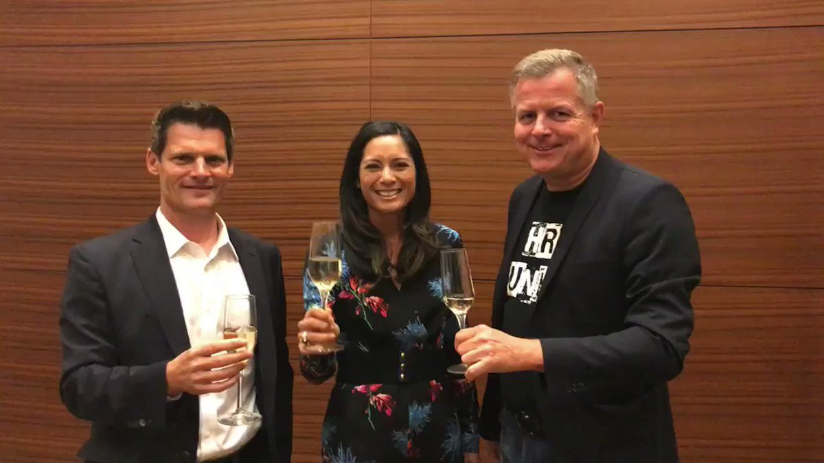 From @GregTomb1, @kirstenallegriw, @StefanRies66, and all of us at SAP SuccessFactors, thanks for making #SuccessConnect a rich, robust experience. Cheers, safe travels, and see you next year! #HumanRevolution