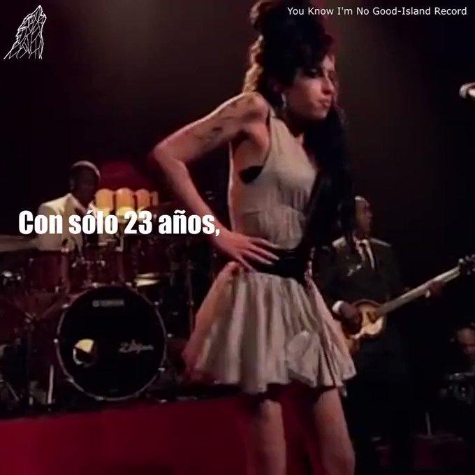 Happy Birthday Hoy, 14 de septiembre, Amy Winehouse hubiera cumplido 35 años.  Una de las mejores