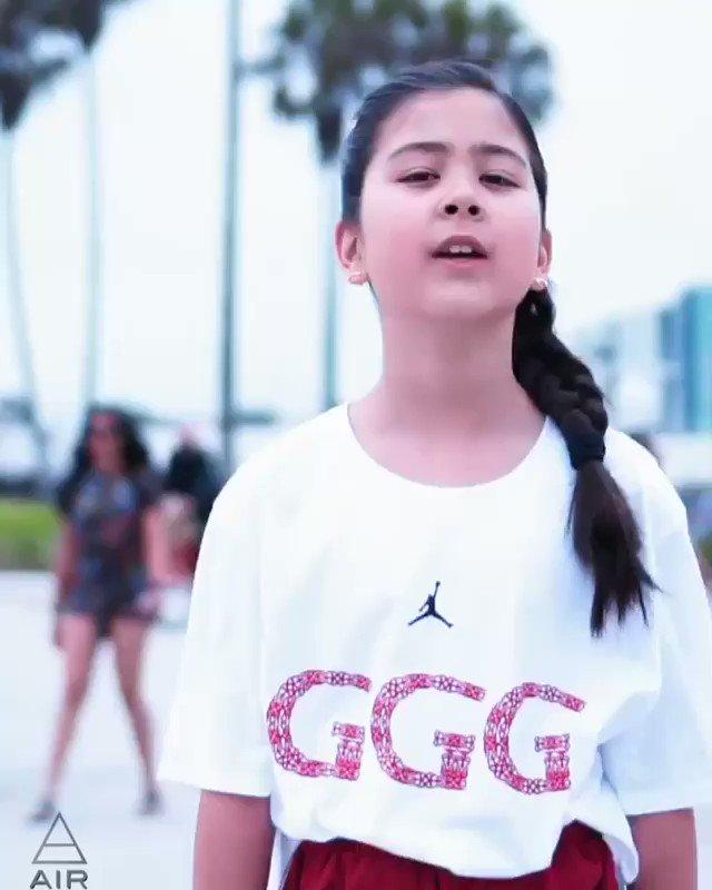 Sofi Manassyan little #GGG fan sends good luck for true champion @GGGBoxing #CANELOGGG2