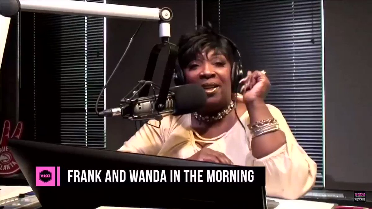 Katt Williams FRIED Wanda from v103 for probably the longest 5 minutes of her career hahaha.