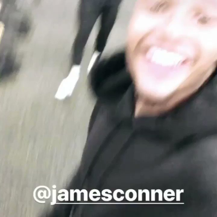 It looks like James Conner lost a bet...