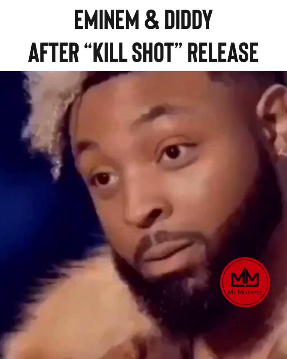 Have y'all heard #Eminem 's response to #MGK 😮 #Killshot listen on the #Mymixtapez app