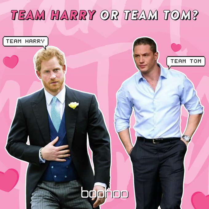 Happy Birthday Prince Harry and Tom Hardy  Are you team Tom or team Harry??