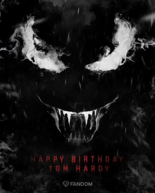 Happy 41st Birthday to Tom Hardy, aka