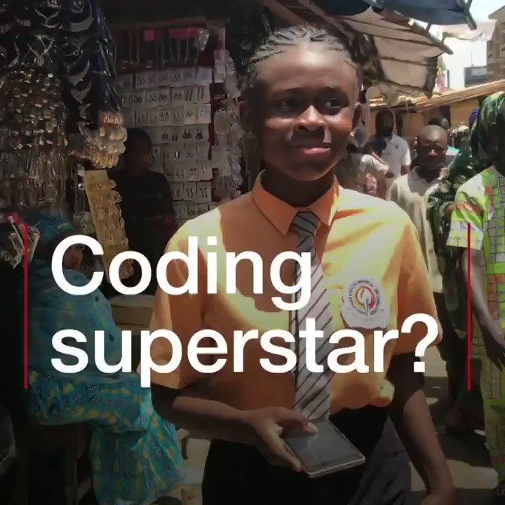 At 12 years old, this Nigerian teenager created an app to help children who are lost ➡️ Technology is the future and being able to know technology is being able to solve problems. #BBCInnovators gates.ly/2pb9bkl