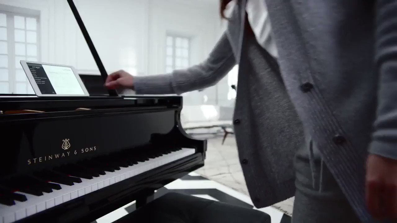 Reloaded twaddle – RT @SteinwayAndSons: Cherish life's musical moments with Spirio, the world's fin...