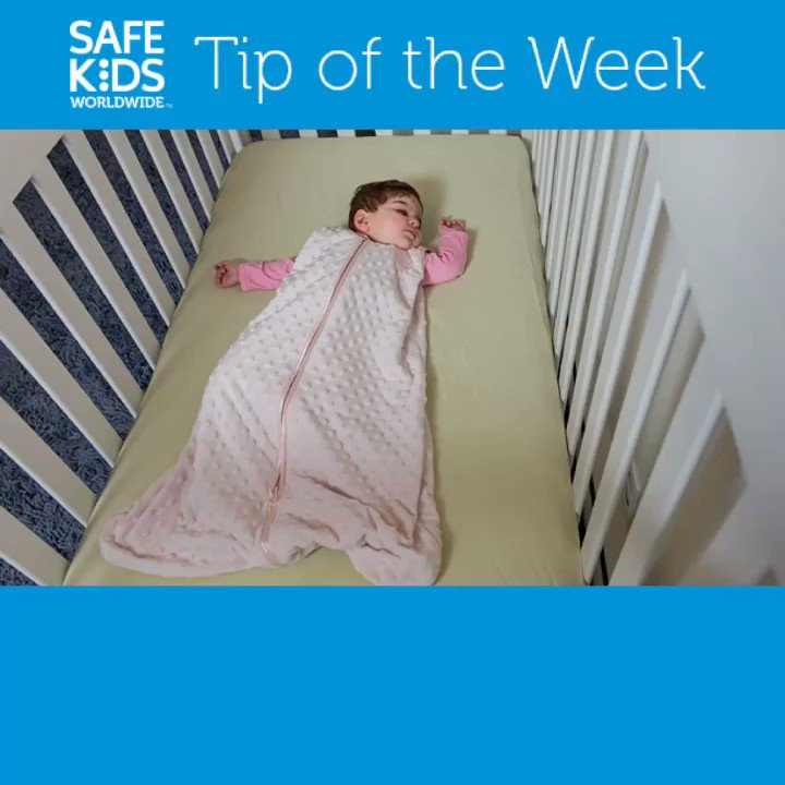 #SafetyTipTuesday: Sleep Safety See other tips and resources on our website: safekids.org/safesleep