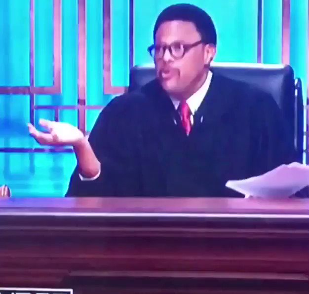 The spirit of Tamar Braxton jumped out in Judge Mathis LMFAOOO