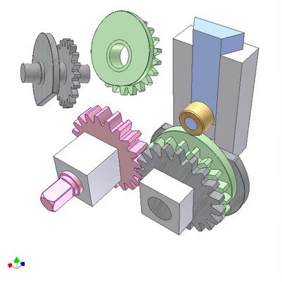 Disk Cam of Automatic Variable Stroke