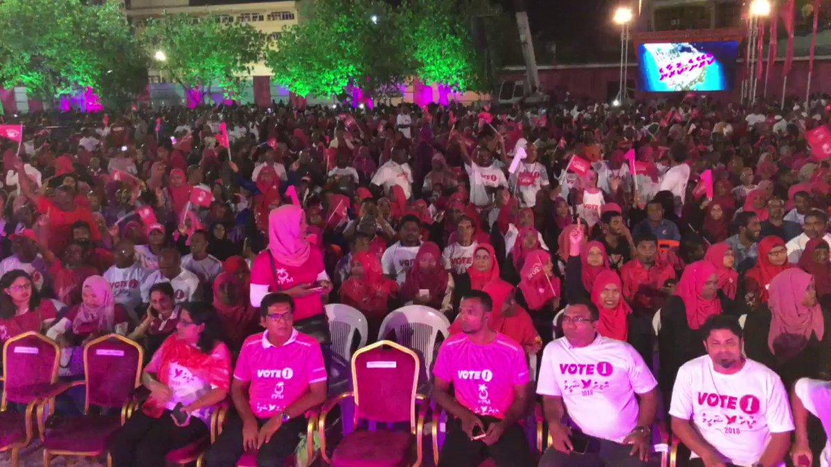 Mi Manzaru MDP ah Hajam Vehjjiyyaa Naseebu! #YameenShaheem2018